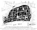 Frankfurt am Main-Karte der Altstadt nach Baldemar von Petterweil-Neues Rotes Haus am Markt.png