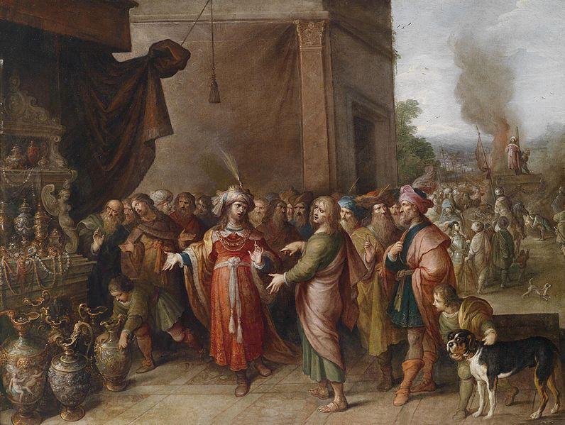 File:Frans Francken II Krösus zeigt Solon seine Schätze.jpg