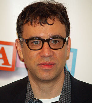 Fred Armisen at the premiere of Baby Mama in N...