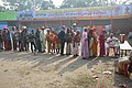Free Food Queue - Gangasagar Fair Transit Camp - Kolkata 2016-01-09 8544.JPG