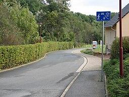 Weidenstraße in Freital