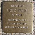 Fritz Klein - Langenrehm 14 (Hamburg-Barmbek-Süd).Stolperstein.nnw.jpg