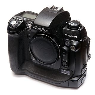 FinePix S3 Pro digital camera model