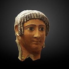 Funerary mask of a woman-MAHG 013744