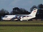 G-WEFX British Aerospace Avro RJ100 (31848724337).jpg