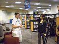 GMU Mason Votes Mason Votes interviews students after DNC (2807874726).jpg