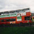 GM Buses bus, Wythenshawe bus station, October 1990.jpg