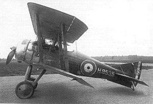Gloster Nightjar - The prototype Nightjar