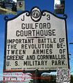 GUILFORD COURTHOUSE - IMPORTANT BATTLE OF THE REVOLUTION BE-TWEEN ARMIES OF GREENE AND CORNWALLIS . U. S. MILITARY PARK. - panoramio.jpg