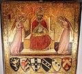 Gabella 26, giovanni di paolo, san pietro alessandrino in trono venerato da due angeli, 1440, 02.jpg