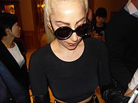 Gaga in The Ritz Carlton Seoul meeting fans.jpg