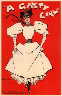 <i>A Gaiety Girl</i> musical