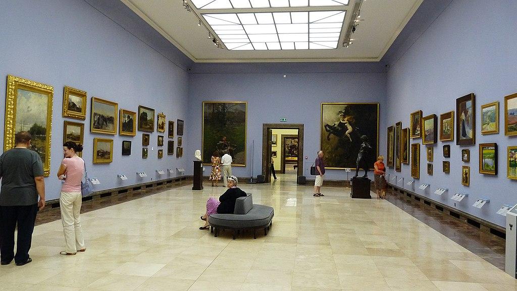 Galeria sztuki polskiej XIX wieku w Sukiennicach - Muzeum Narodowe - panoramio (6)