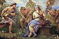 Galleria di luca giordano, 1682-85, trittolemo e cerere 03 cerere.JPG