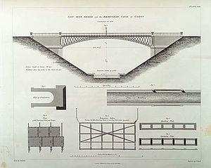Galton Bridge - Image: Galton Bridge Smethwick Drawing