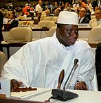 Gambian President Yahya Jammeh concedes electoral defeat