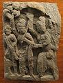 Gandhara, da saidu sharif I, rilievo con personaggi di un corteo.JPG