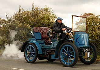 Gardner-Serpollet - Gardner-Serpollet (steam) 5HP Double phaeton from 1900