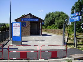 Image illustrative de l'article Gare de Champbenoist - Poigny