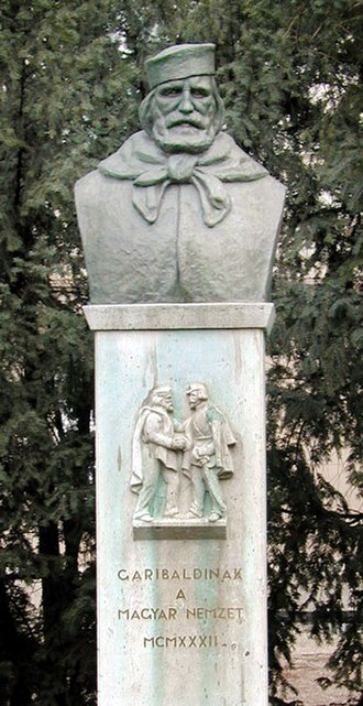 István Türr - Image: Garibaldi Budapest
