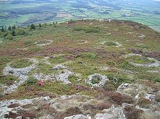 Garn Boduan - Stone hut circles on Garn Boduan