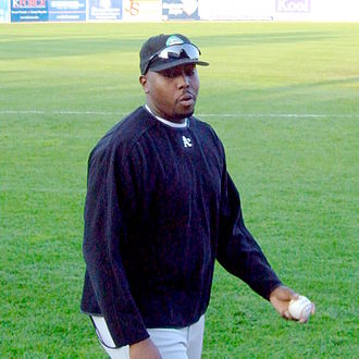 Garvin Alston - Alston with the Kane County Cougars in 2006