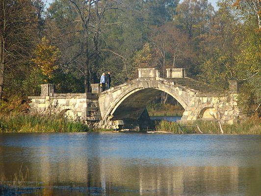 Горбатый мост (Гатчина)