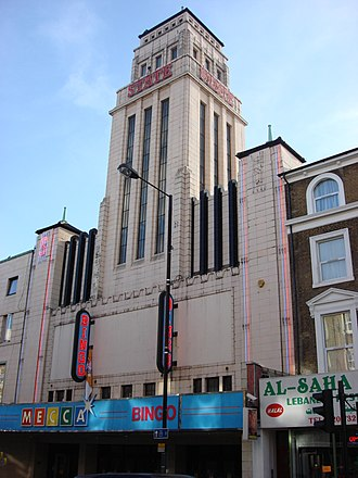 Kilburn, London - The Gaumont State Cinema on Kilburn High Road