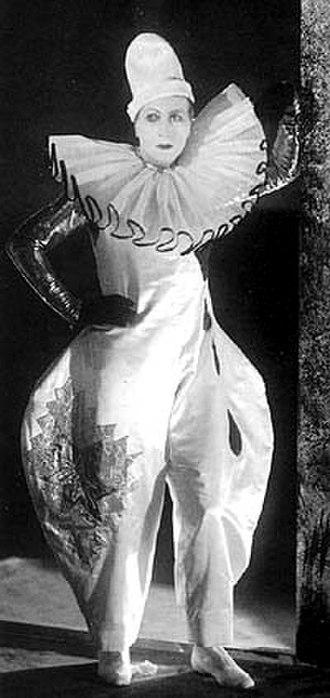 Gösta Ekman (senior) - As HE/The Clown in play Han som får örfilarna (He Who Gets Slapped) by Leonid Andreyev at Oscarsteatern, Stockholm, 1926