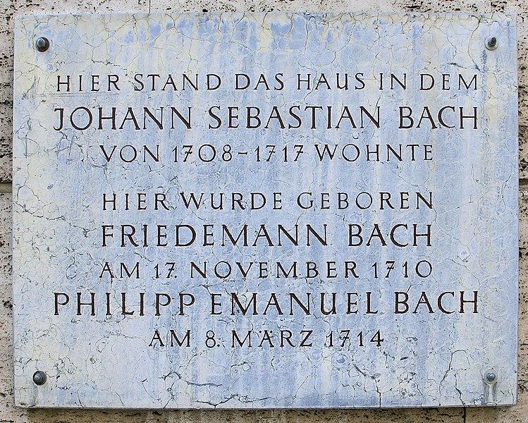 Bachhaus Weimar