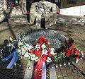 Gedenktafel für die zerstörte Synagoge vom Platz der Alten Synagoge in Freiburg wegen Bauarbeiten v 2.jpg