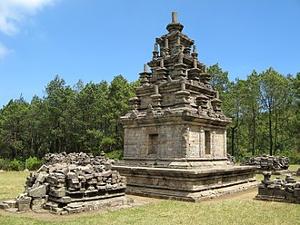 Gedong Songo - Temple IV at Gedong Songo