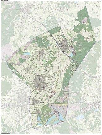 Cranendonck - Image: Gem Cranendonck Open Topo
