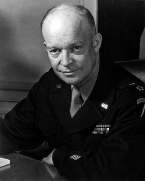 Dwight D. Eisenhower, Supreme Allied Commander...