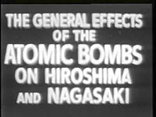 ファイル:General Effects of Atomic Bomb on Hiroshima and Nagasaki.ogv