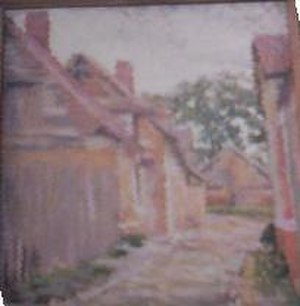 Gennevilliers - Gennevilliers, by Lucy Bacon circa 1895. Photo from painting in private collection.