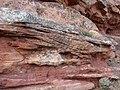 Geology in Tiermes (Soria, Spain) - Buntsandstein - cross-bedding 04.jpg