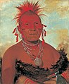 George Catlin - Shón-ka-ki-he-ga, Horse Chief, Grand Pawnee Head Chief - 1985.66.99 - Smithsonian American Art Museum.jpg