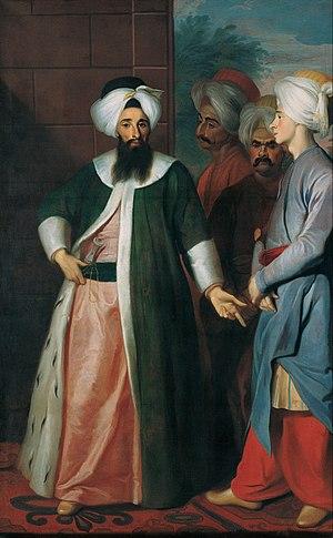 Mustapha Aga - Kozbekçi Mustafa Ağa and his Retinue