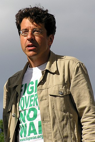 George Monbiot - Monbiot at a Make Poverty History rally in Scotland