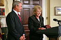 George W. Bush announces nomination of Mary Peters.jpg