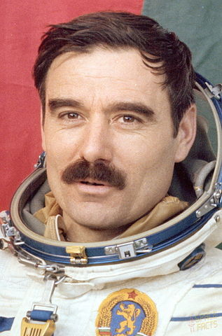 Bulgarian cosmonaut Georgi Ivanov, photo by Wikipedia user Svilen1970Source:  317px-Georgi_ivanov-676x1024.jpg