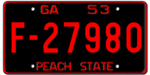 Georgia license plate 1953 graphic.png