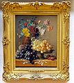 Georgius Jacobus Johannes van Os (1782-1861), Stilleven met vruchten en bloemen in Griekse vaas, Olieverf op doek.JPG