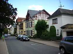 A residential area in Bad Schwalbach