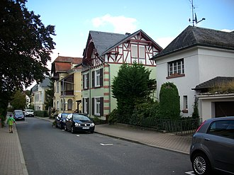 Bad Schwalbach - A residential area in Bad Schwalbach
