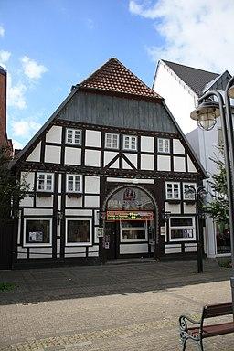 Bachstraße in Geseke