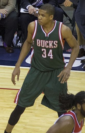 Giannis Antetokounmpo - Antetokounmpo with the Bucks in November 2014