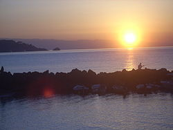 جیاردینی ناکسوس, a popular resort in the Province of Messina
