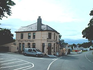 Ginger Hall - Image: Ginger Hall Hotel at Sulby geograph.org.uk 475568